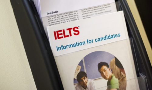 close up IELTS information leaflet
